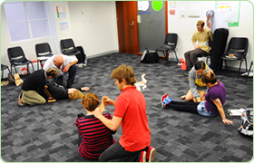 Perform First Aid Training Canberra